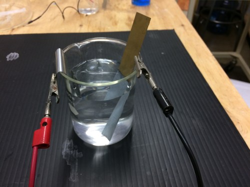 small resolution of zinc plating on copper electrolysis demo