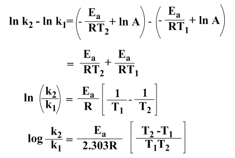 Arrhenius Equation Definition, Examples and Theory
