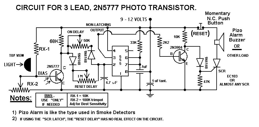 REVISED Laser Beam Alarm
