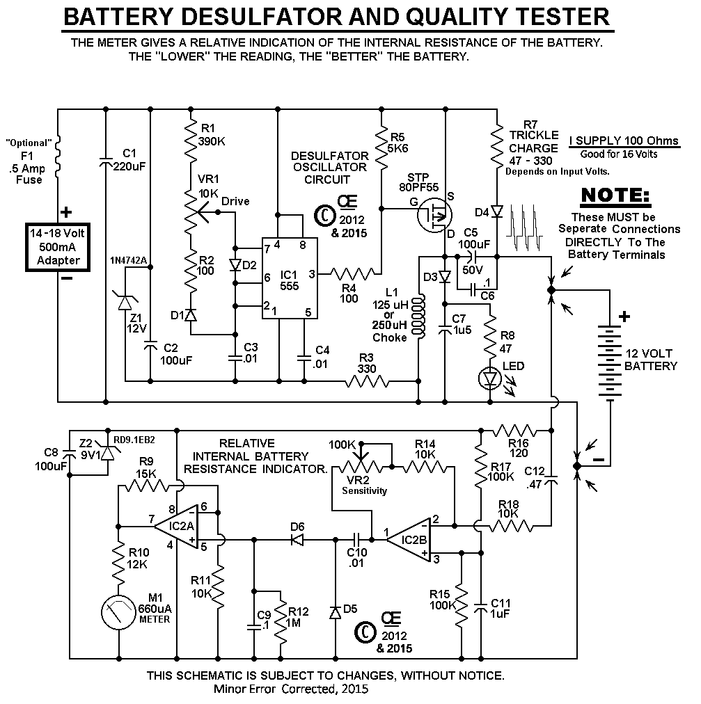 hight resolution of my new battery desulfator tester