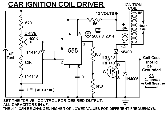 Car Ignition Coil Driver
