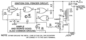 Car Distributor Electric Fence  Great Installation Of Wiring Diagram