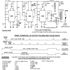 Electric Fence Circuit Diagram Diy 2006 F150 Ac Wiring Hotter More Powerful Design The Schematic