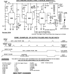 electric fence schematic wiring diagram show electric fence hotter more powerful design electric fence [ 1131 x 1249 Pixel ]