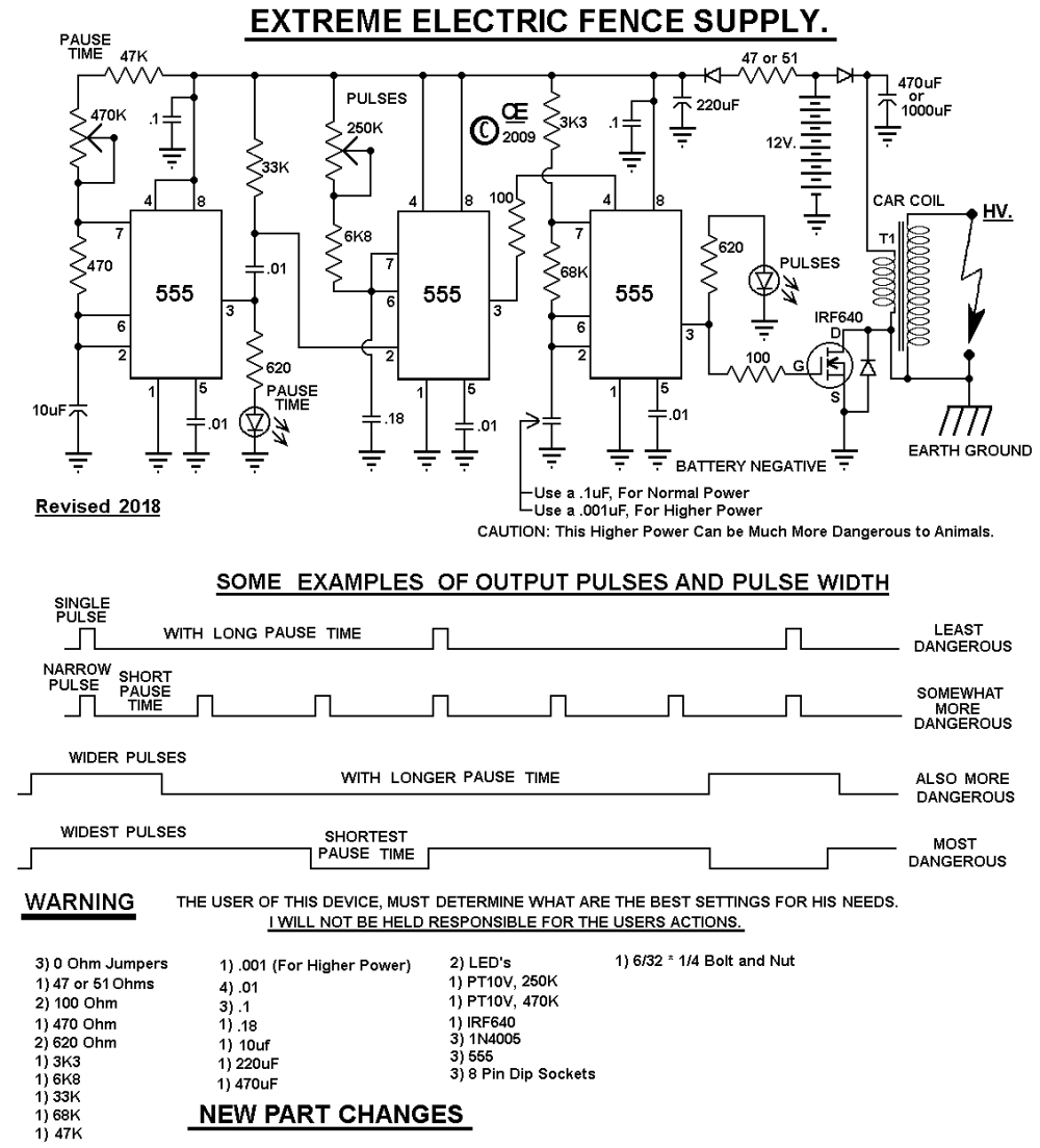 medium resolution of electric fence schematic wiring diagram show electric fence hotter more powerful design electric fence