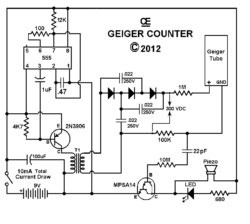 geiger counter wiring diagram