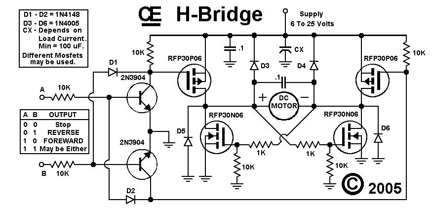 My H-Bridge Circuit