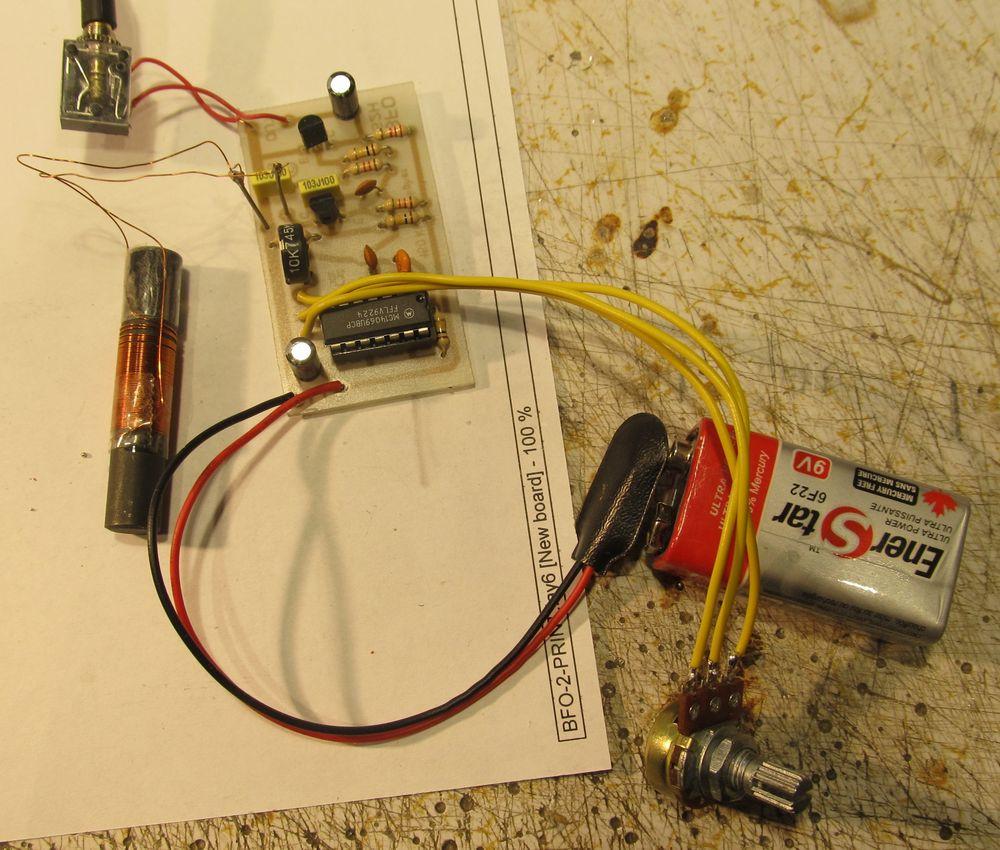 Bfo Metal Detector Circuit