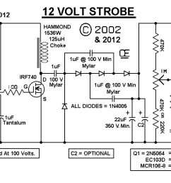 strobe light schematic free wiring diagram for you u2022 12 volt led light circuit 12v strobe light wiring diagram [ 1435 x 573 Pixel ]