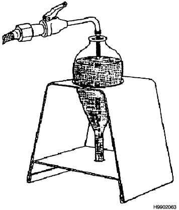 Figure 3-33. Filling Centrifuge Tube from Hose