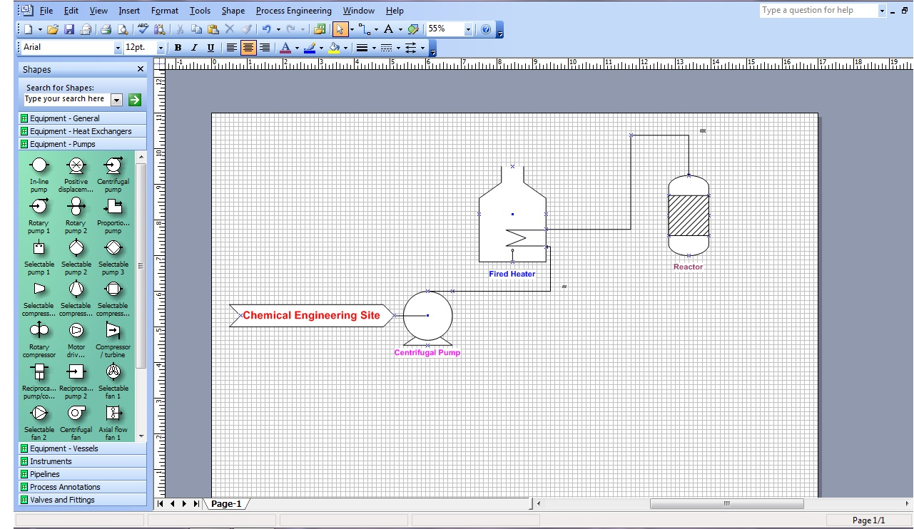 hight resolution of ms visio for chemical engineers chemical engineering site create process flow diagram in visio ms visio