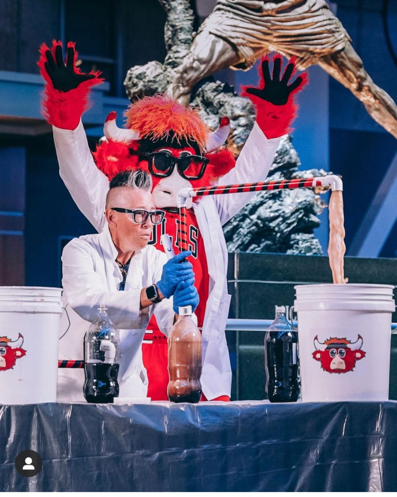 Science with Benny the Bull