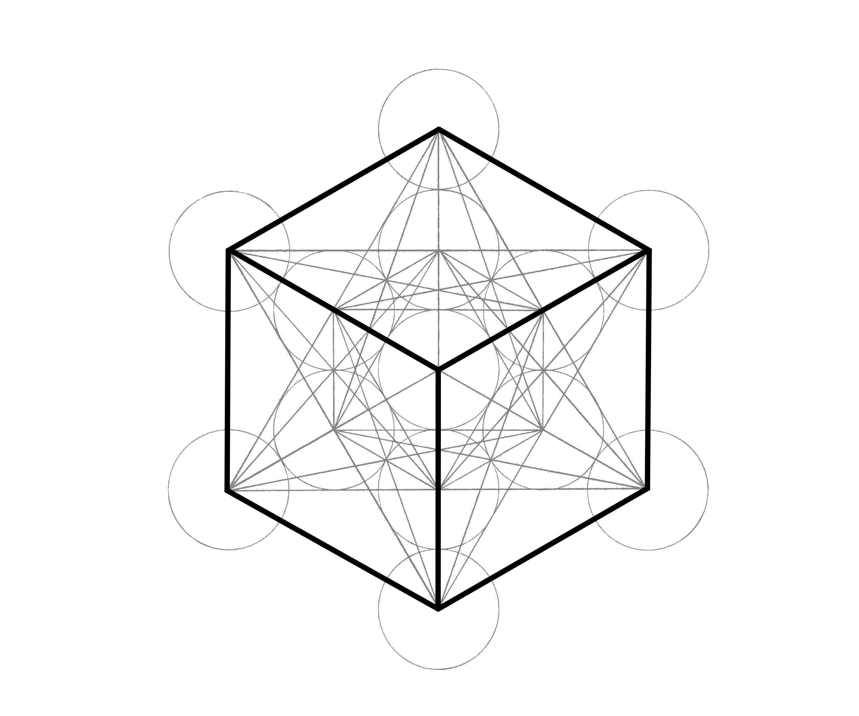 Metatron's Cube: How- to Draw it…