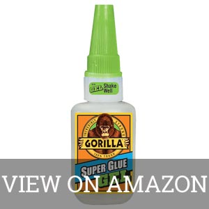 Gorilla Super Glue Gel for Rubber