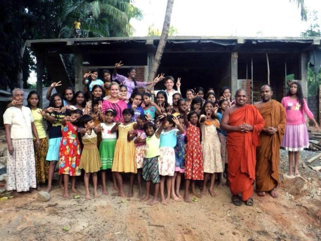 Une maison pour les jeunes filles de l'orphelinat d'Embilipitiya au Sri Lanka 1