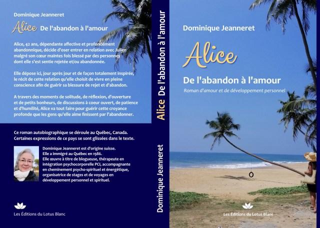 Mon premier livre : Alice – De l'abandon à l'amour 2