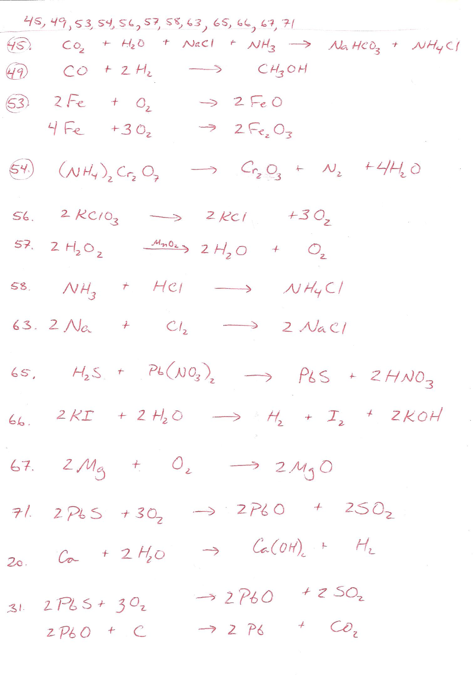 Net Ionic Equations Advanced Chem Worksheet