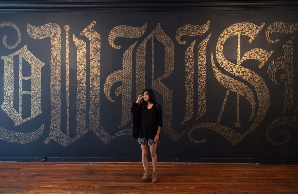 Hand lettered typography by Dana Tanamachi
