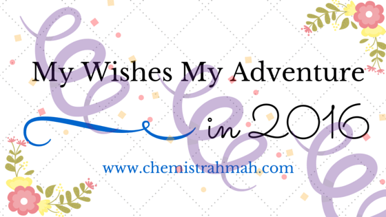 My Wish My Adventure in 2016