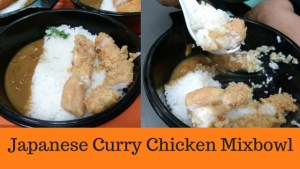 Japanese Curry Chicken Mixbowl