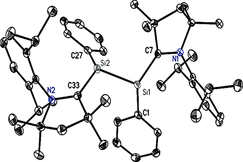 Phosphorus Silicon Compounds from the Reduction of MesP(H