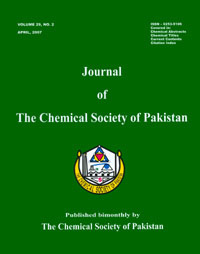 Journal of Chemical Society Pakistan