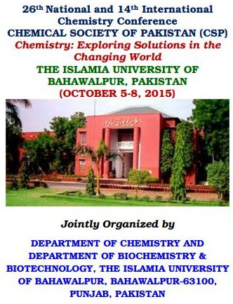 26th National and 14th International Chemistry Conference