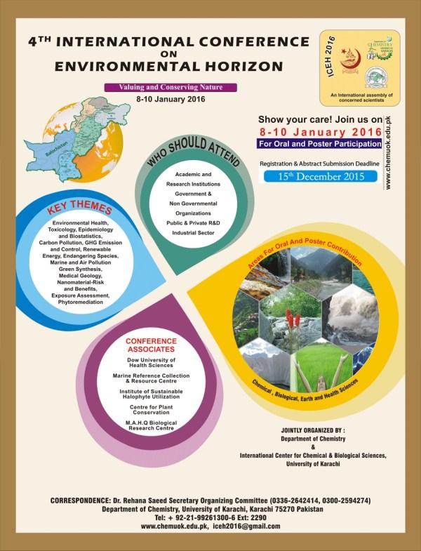 4th International Conference on Environmental Horizon