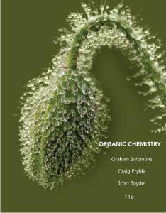 Solomons Organic Chemistry 11 edition