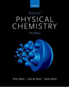 Atkins' Physical Chemistry 11th edition