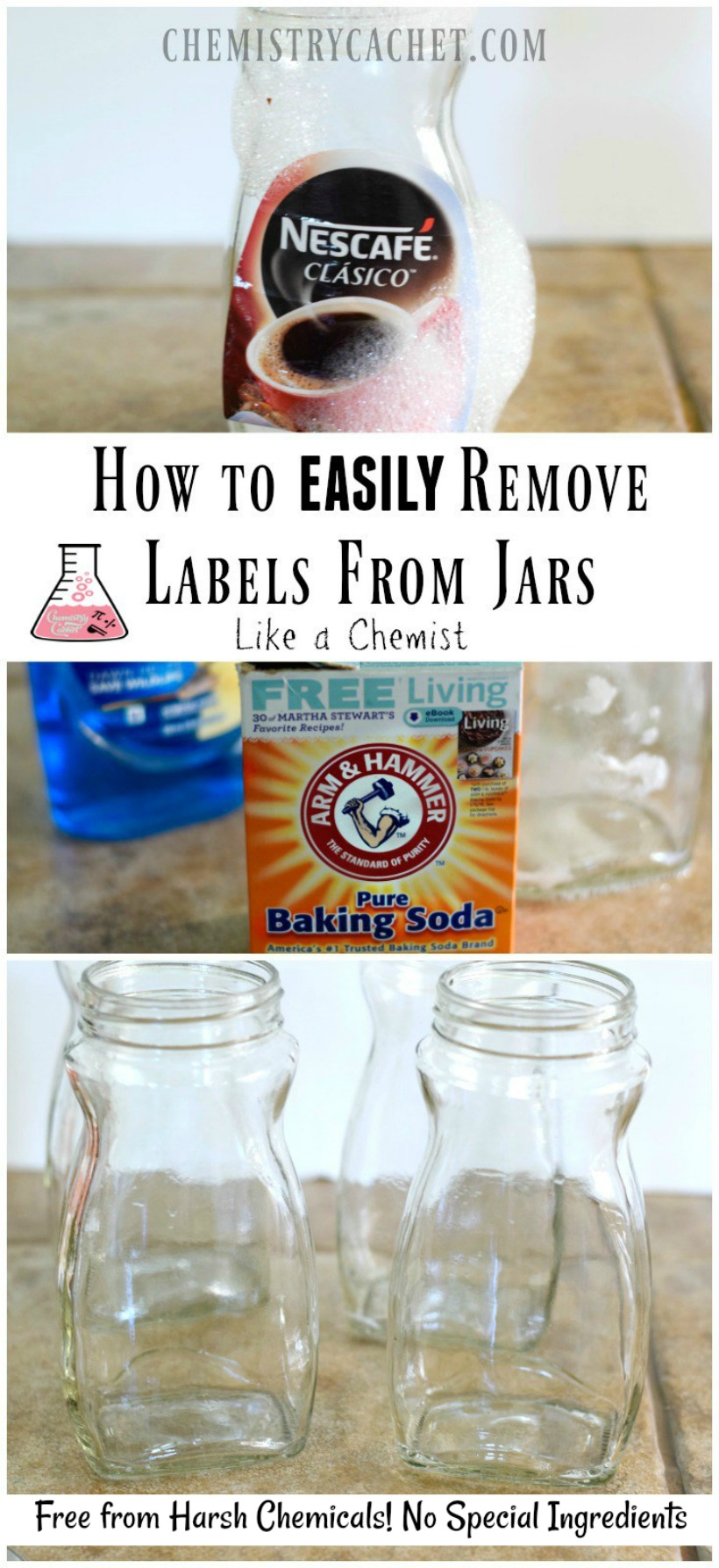 How To Remove Labels From Jars Like A Chemist