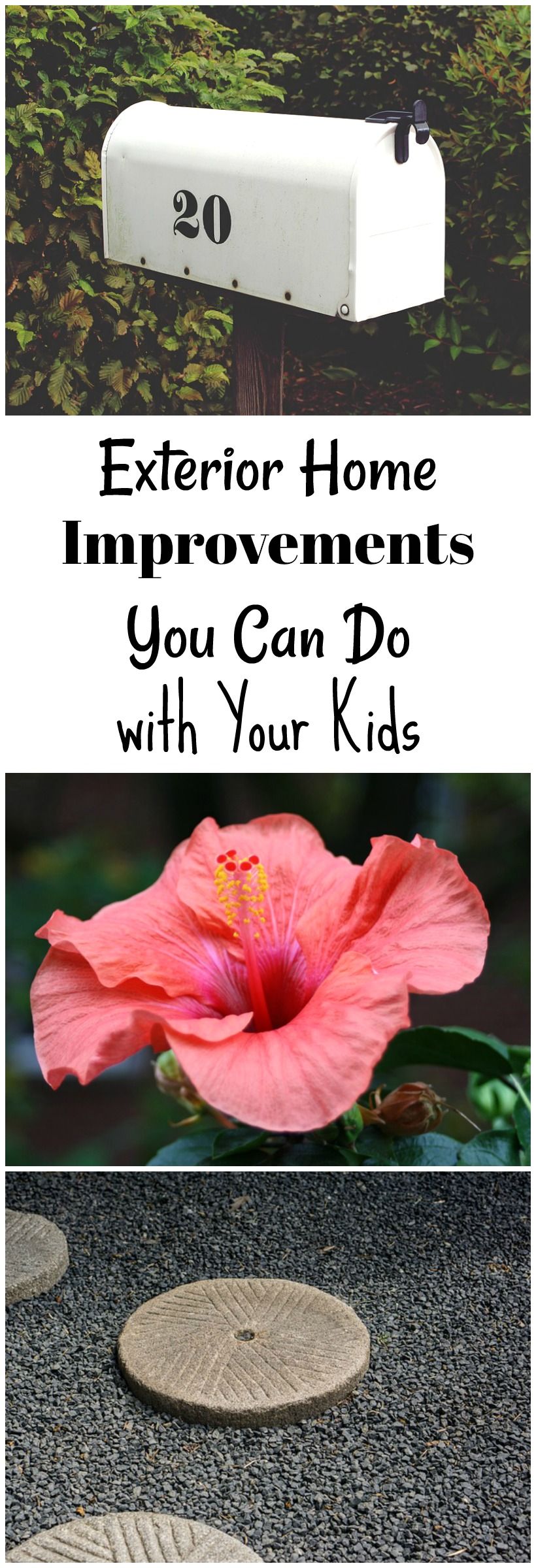 Exterior Home Improvements You Can Do with Your Kids