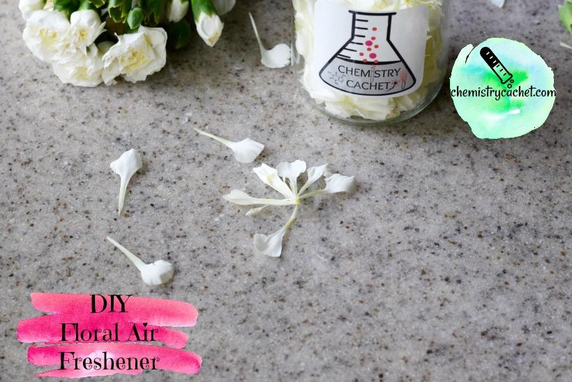 DIY Floral Air Freshener