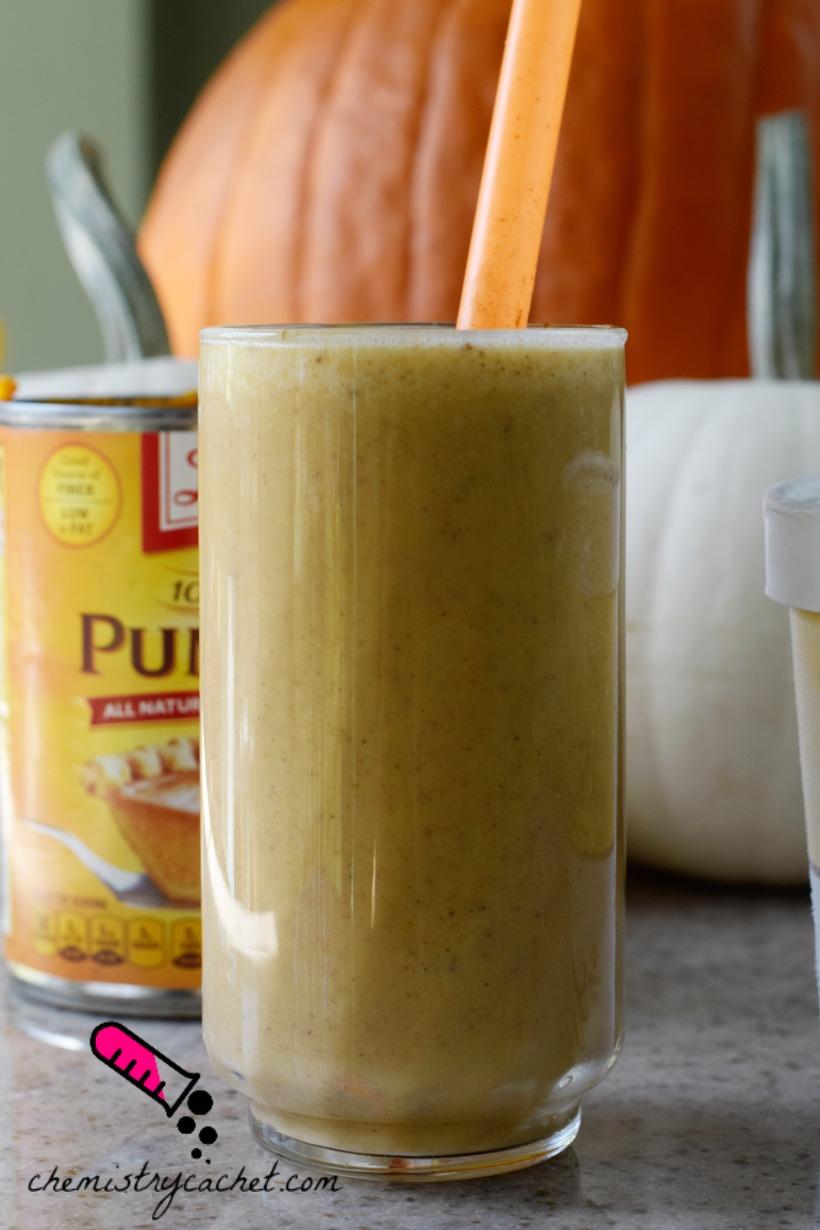 Easy Dairy-Free Pumpkin Pie Milkshake