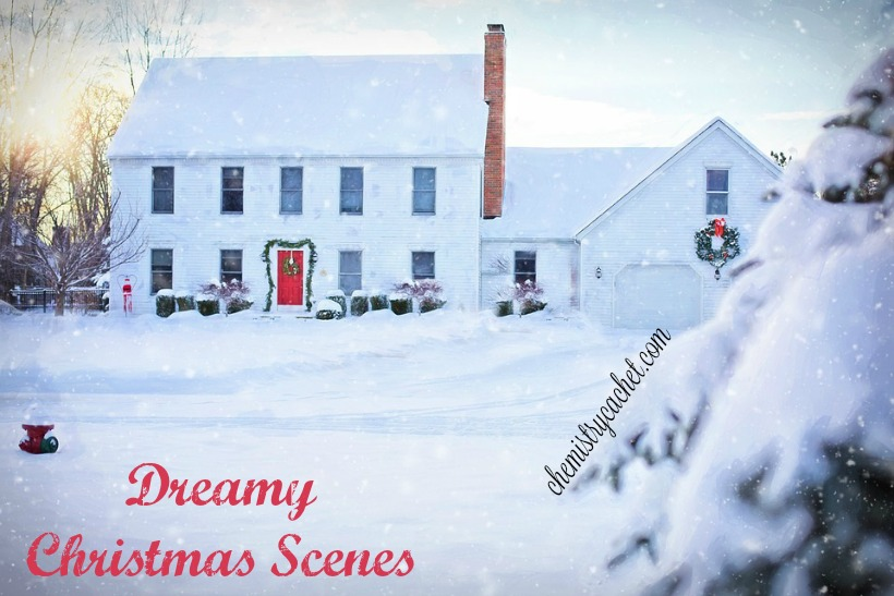 dreamy christmas scenes