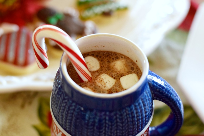 fun, easy hot chocolate bar
