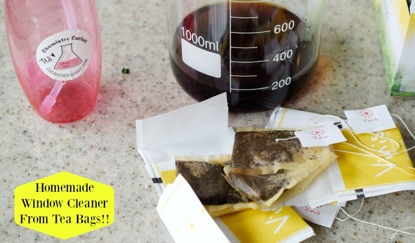 Homemade Window Cleaner From Tea Bags!!!