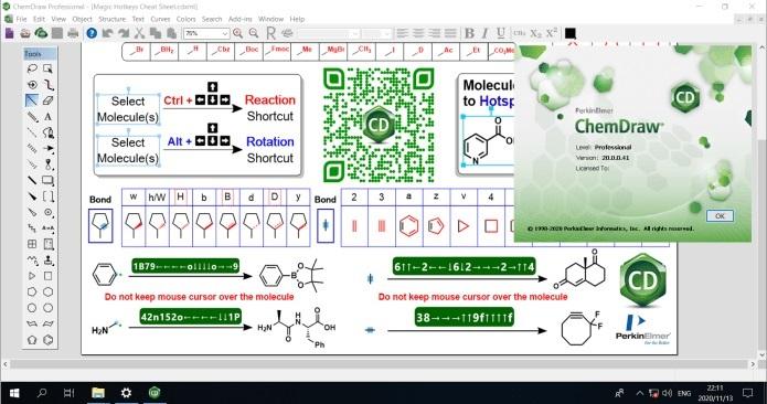 PerkinElmer ChemOffice 2020 - Version 20.0