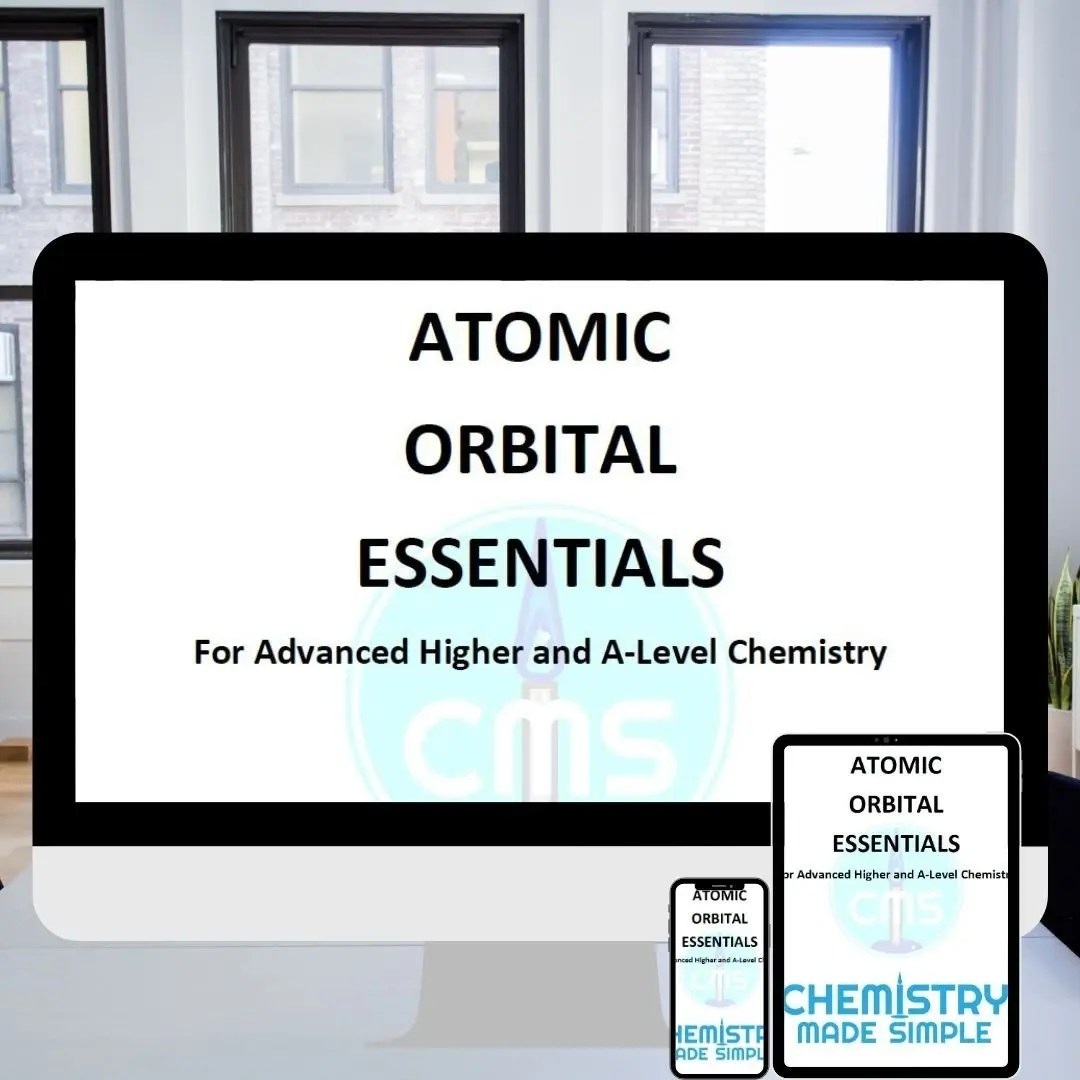A-Level Chemistry tuition, get the download atomic orbitals podcast episode 4 chemistry made simple