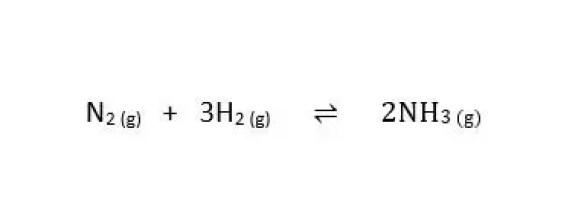 haber process reversible reaction