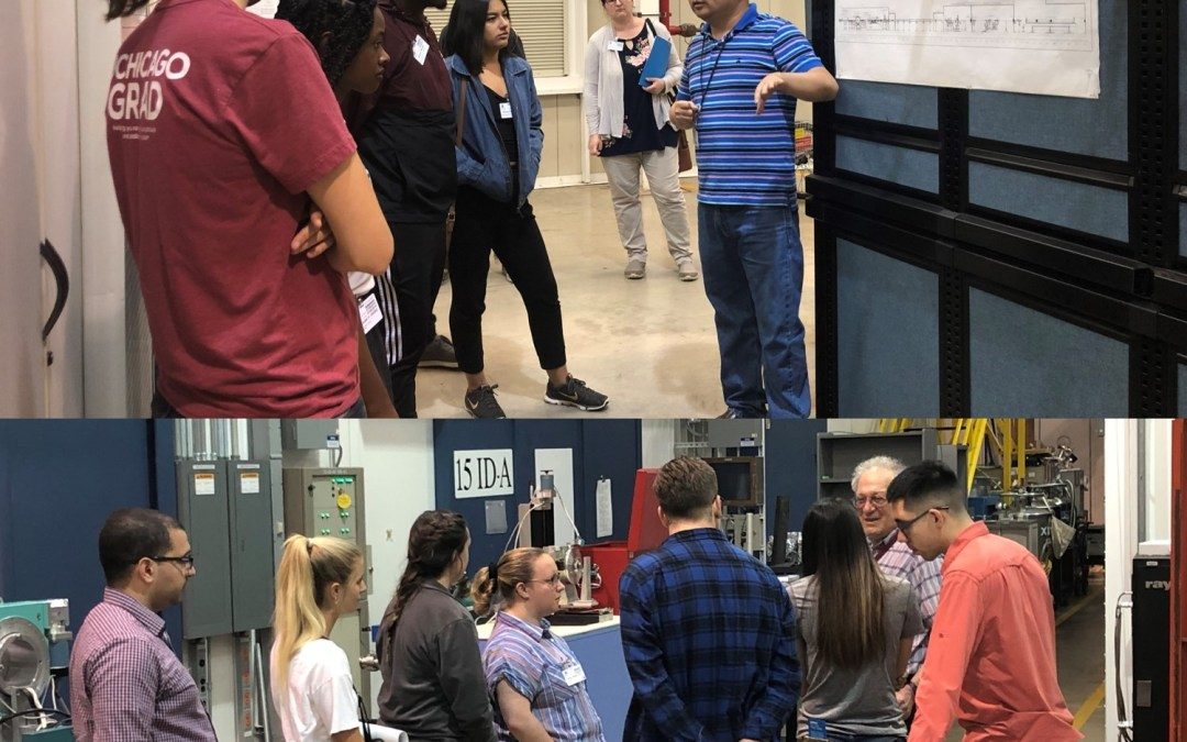 NSF's ChemMatCARS Hosts Tour for REU Site Program Participants