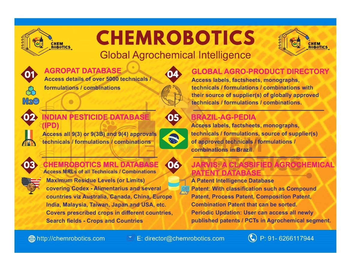 CHEMROBOTICS - Database Verticals