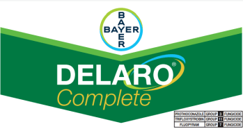 May 2021 –Bayer Crop Science division of Bayer announced that Delaro® Complete has been registered for use in Eastern Canada on corn, soybeans and cereals. The new foliar fungicide delivers effective and consistent control of major corn, soybean, and cereals diseases. Delaro® Complete fungicide offers unique chemistries in all three modes of action. These powerful ingredients work together to provide consistent control of most major corn and soybean diseases and increased plant health all season long. This product has been approved for use in the following states: AL, AR, CO, CT, DE, GA, IA, ID, IL, IN, KS, KY, MA, MD, MI, MN, MO, MS, MT, NC, ND, NE, NH, NJ, NM, NV, OH, OK, OR, PA, RI, SC, SD, TN, TX, VA, VT, WA, WI, WV, WY. Delaro Complete is a 458 Suspension Concentrate (SC). Delaro Complete contains three active ingredients. The first, fluopyram, is a group 7, or SDHI, which has activity on important diseases such as white mold, brown spot and gray leaf spot and significant plant health upsides. The second, prothioconazole, is a group 3, or triazole, which has a very broad and deep spectrum of disease control and activity. The third, trifloxystrobin, is a group 11, or strobilurin, that shows preventative activity on many diseases, and offers an array of plant health effects. Delaro Complete fungicide is formulated with three heavy-hitting modes of action, together maximizing activity of even the toughest diseases. In corn, Delaro Complete has excellent preventive and curative defenses against yield-robbing diseases including (but not limited to), tar spot, gray leaf spot, northern corn leaf blight, anthracnose leaf blight and southern rust. In soybeans, Delaro Complete defends against frogeye leaf spot, brown spot, aerial blight and white mold amongst others. Explore a more complete list of diseases Delaro® Complete controls. In corn, Delaro Complete provides excellent preventive defenses against yield robbing diseases such as common rust, eye spot, Northern corn