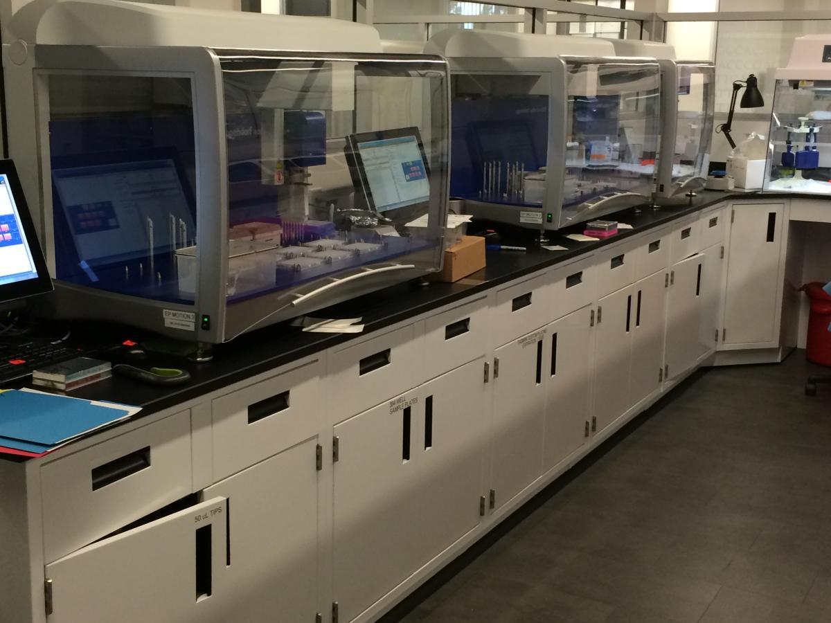 Epoxy Resin Laboratory Countertops