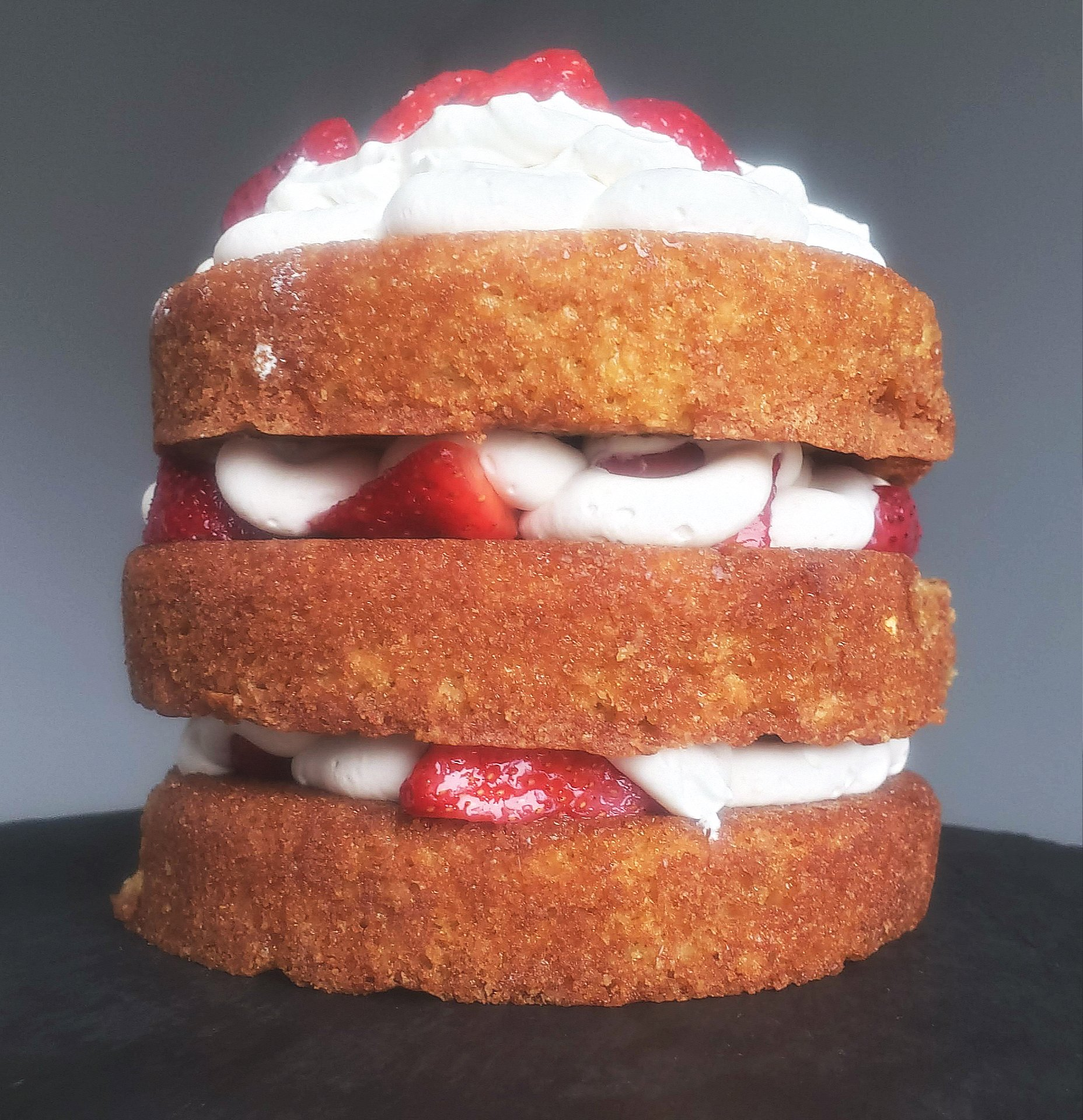 Mini Strawberry Layer Cake