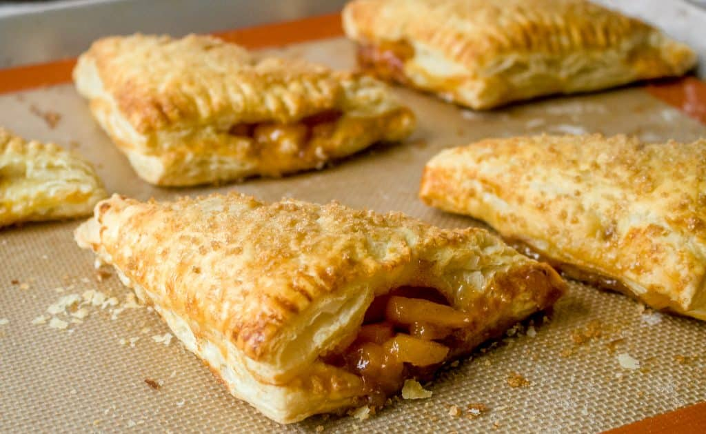 Easy Homemade Peach Turnovers Recipe | Chenée Today