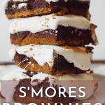 Homemade S'mores Brownies Recipe with Marshmallow Fluff | Chenée Today