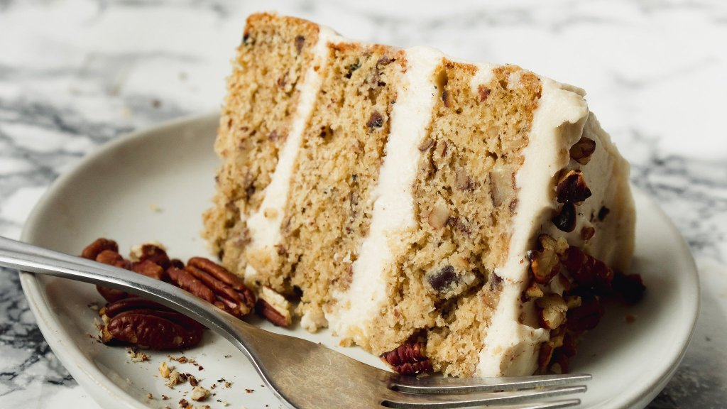 Brown Butter Pecan Cake from Scratch - Best Recipe! | Chenée Today