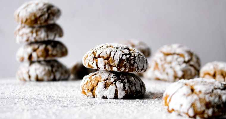 Ginger Crinkle Cookies