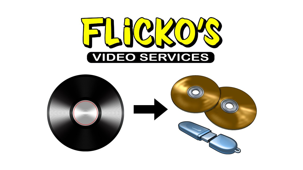 vinyl to cd by flickos video services